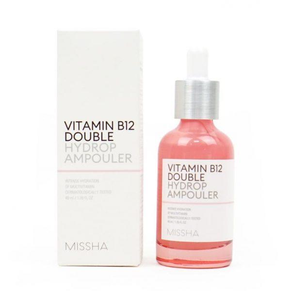 Missha – Vitamin B12 Double Hydrop Ampouler
