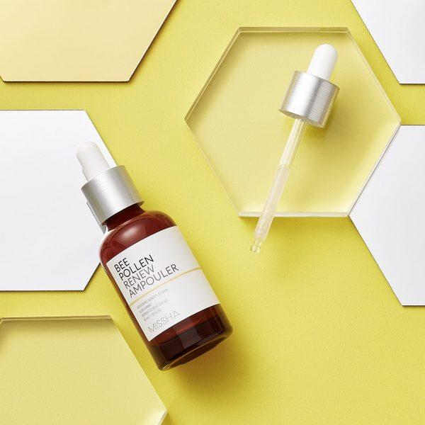 Missha – Bee Pollen Renew Ampouler Feuchtigkeitsserum