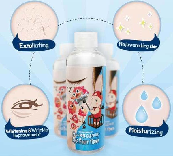 Elizavecca – Milky Piggy Hell Pore Clean Up AHA Fruit Toner