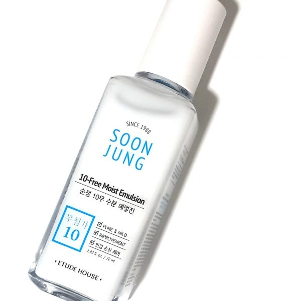 Etude House –  Soon Jung 10-Free Moist Emulsion 120m