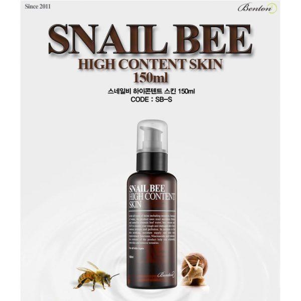 Benton –  Snail Bee High Content Skin