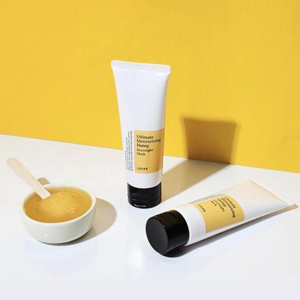 Cosrx – Ultimate Moisturizing Honey Overnight Mask 60g