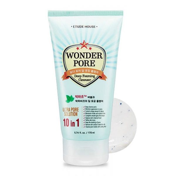 Etude House – Wonder Pore deep foaming cleanser
