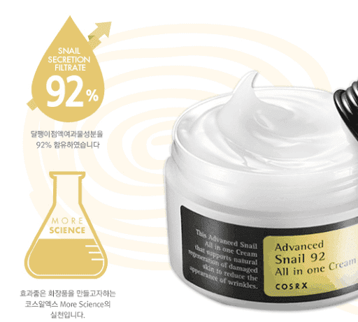 Cosrx – Advanced Snail 92 All in one Cream